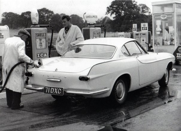 The Saint Volvo P1800 71 DXC